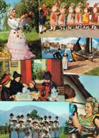 Lot 54 AK Motiv Trachten Und Folklore, In- Und Ausland - Cartes Postales