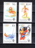 Seychelles   -  1996. Centenario CIO. Nuoto,Corsa,Vela,Boxe.Centenary CIO. Swimming, Running, Sailing, Boxing MNH - Sommer 1996: Atlanta