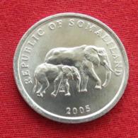 Somaliland 5 Shilling 2005 Elephant Somalilandia Wºº - Somalie