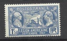 France N°   245  Légion Américaine  Neuf * *   B/TB- MNF/H VF  Soldé à  Moins De 15 % ! ! ! - France