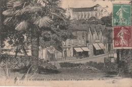 ***  49  ***  CHOLET  Jardin Du Mail Et église St Pierre- Timbrée TTB - Cholet