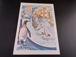 CPA .TAAF. Ile De Crozet Et Kerguelen.1er Jour  1972 (A) - TAAF : Franz. Süd- Und Antarktisgebiete