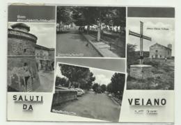 SALUTI DA VEIANO - VEDUTE VIAGGIATA FG - Viterbo