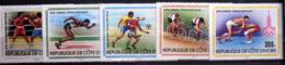COTE D'IVOIRE                   N° 511/515                    NEUF** - Côte D'Ivoire (1960-...)