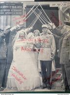 1951MANOM ( MOSELLE ) PREMIÈRE MAIRESSE DE FRANCE ÉPOUSE LE COMTE DE SÉLANCY - ÎLE DE MAN L'INTERNATIONALE DES SORCIERS - Journaux - Quotidiens