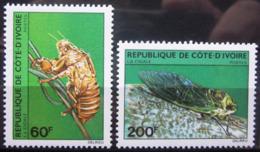 COTE D'IVOIRE                   N° 553/554                    NEUF** - Côte D'Ivoire (1960-...)