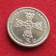 Isle Of Man 5 Pence 2002 AC KM# 1038  Ile De Man Isla De Man Isola Di Man - Regional Coins