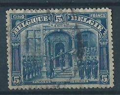 Belgique Belgïe COB 147 Franken OBL Cote 170 € - 1915-1920 Alberto I