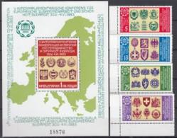 KSZE Ausgabe: BULGARIEN 3174-3177 + Block 131, Postfrisch **, 1983 - 1983