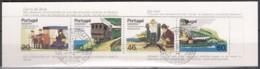 MADEIRA  Markenheftchen 5, Mit 100-103,  Gestempelt, Transportmittel Auf Madeira 1985 - Madère