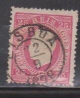 PORTUGAL Scott # 41 Used - King Luiz I - 1862-1884 : D.Luiz I