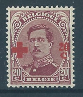 Belgique Belgïe COB 155 MNH** Cote 100 € Superbe ! - 1918 Red Cross