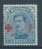 Belgique Belgïe COB 156 MNH** Cote 110 € Superbe ! - 1918 Rotes Kreuz