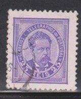 PORTUGAL Scott # 65 Used - King Luiz I - 1862-1884 : D.Luiz I