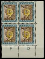 3. REICH 1943 Nr 828 Postfrisch VIERERBLOCK ECKE-URE X7802EE - Deutschland