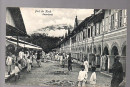Netherlands Indies ± 1910 Fort De Kock Pasar Loods  (19-44) - India Holandeses
