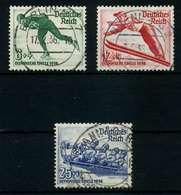 3. REICH 1935 Nr 600-602 Zentrisch Gestempelt X784CEA - Deutschland
