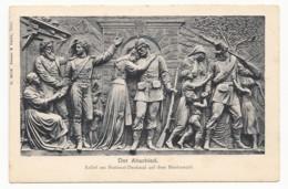 Rüdesheim Am Rhein - Der Abschied - Relief Am Nationaldenkmal Auf Dem Niederwald - Monuments