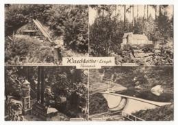 Waschleithe (Grünhain) Im Erzgebirge - Schauanlage Heimateck - 4 Ansichten - Gruenhain