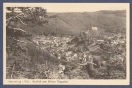 Schwarzburg Im Schwarzatal - Vom Trippstein Gesehen - Saalfeld