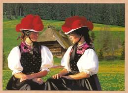 Schöner Schwarzwald - Mädchen In Gutacher Tracht - Gutach (Schwarzwaldbahn)