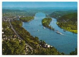Der Rhein - Blick Vom Drachenfels Auf Die Inseln Grafenwerth U. Nonnenwerth - Germany