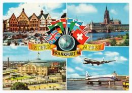 Frankfurt Am Main - Internationale Messe - 4 Ansichten - Frankfurt A. Main