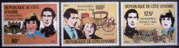 COTE D'IVOIRE                   N° 622/624                    NEUF** - Côte D'Ivoire (1960-...)