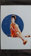 CPM PIN UP JEU DE BULLES JEUNE FEMME NUISETTE  ILIOM CANAL PLUS ED DU DESASTRE 2003 - Pin-Ups