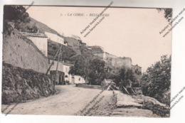Lot De 5 CPA BELGODERE (20B) : Quartier Ladiola, Route De Calvi à Corte (Balagna), Vue Et Centre Du Village - Autres Communes