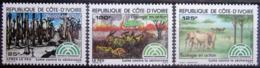 COTE D'IVOIRE                   N° 667/669                    NEUF** - Côte D'Ivoire (1960-...)