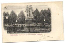 Maeseyck - Standbeeld Van Jan En Hubert Van Eyck - Maaseik