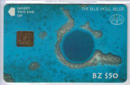 A SAISIR - BLZ1 - The Blue Hole Belize - BZ $50 - Puce GEM - Voir Scans - Belize