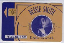 A SAISIR - F231.770.AC - Bessie Smith 50 U Avec Variété A Collé - Voir Scans Et Description - France