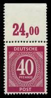 KONTROLLRAT ZIFFERN Nr 929a P OR Dgz Postfrisch ORA X82C966 - Gemeinschaftsausgaben