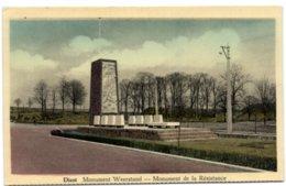 Diest - Monument Weerstand - Diest