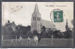 Carte Postale 59. Landas  Eglise Et Presbytère   Trés Beau Plan - Autres Communes