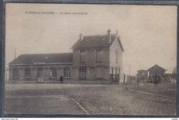 Carte Postale 59. Fines-lez-Raches  La Gare Reconstruite   Trés Beau Plan - France