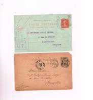Lot De 6 Entiers Postaux.(1 Allemagne,1 Pays-Bas,1 Russie) - Frankreich