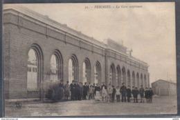 Carte Postale 59. Feignies  La Gare Extérieure   Trés Beau Plan - France