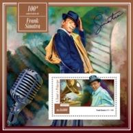 Sao Tome And Principe, 2015. [st15107] Great Musicians, F. Sinatra (s\s+bl) - Música