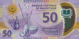 MAURITANIA P. 22 50 O 2017 UNC - Mauritanie