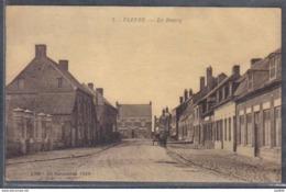 Carte Postale 59. Flètre  Le Bourg  Trés Beau Plan - France