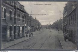 Carte Postale 59. Hellemmes Rue Sadi Carnot   Trés Beau Plan - France