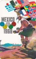 Olympic Games , Mexico City , 1968 ; Poster Art #1 - Giochi Olimpici