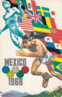 Olympic Games , Mexico City , 1968 ; Poster Art #3 - Olympic Games