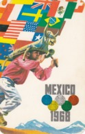 Olympic Games , Mexico City , 1968 ; Poster Art #4 - Giochi Olimpici