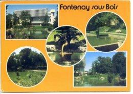 94120 FONTENAY-SOUS-BOIS - Lot De 2 CPM - Voir Détails Dans La Description - Fontenay Sous Bois