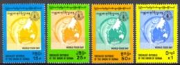 Burma Sc# 289-292 MNH 1983 World Food Day - Myanmar (Burma 1948-...)