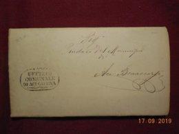 Lettre De 1879 De Aci Catena - Marcofilía